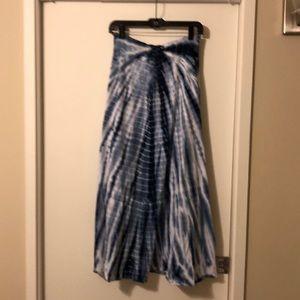 TRYST tye-dye maxi skirt size M.